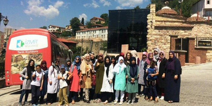 ANKARA'DAN GELİP TURİZMİT'E KATILDILAR