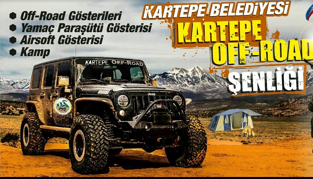 KARTEPE'DE OFF ROAD ŞENLİĞİ