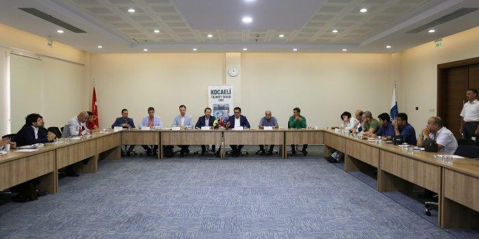 Ukrayna, Kocaelili işadamlarını ticari işbirliğine davet etti