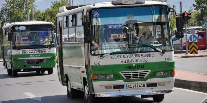 Kriterlere Uymayan Özel Halk Otobüslerine Sefer Cezası