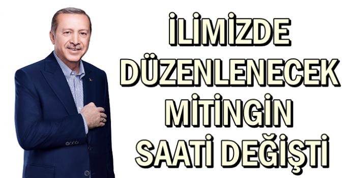 CUMHURBAŞKANI İZMİT'E 17.30'DA GELECEK