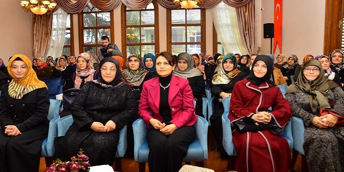 Aksoy, İl Müftülüğü Kadın Çalışanları ve Personel Eşleriyle bir Araya Geldi