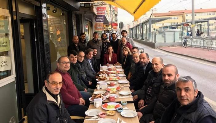 Hürriyet Paşa Tramvay Durağı Esnafıyla Buluştu