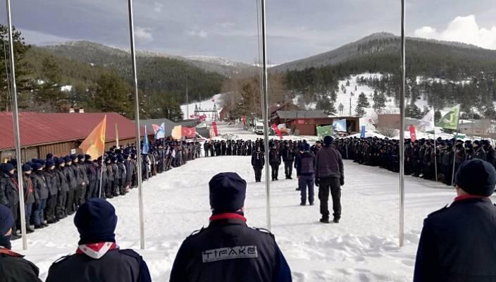 İzmitli İzciler Kış Kampında