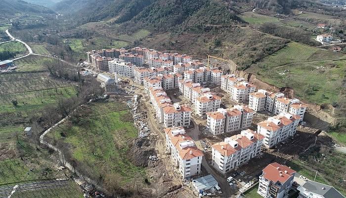 Kentsel Dönüşüm Projesinde Binalar Hızla Yükseliyor
