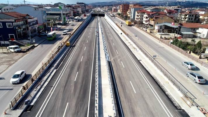 Köseköy Köprülü Kavşaği Açılıyor