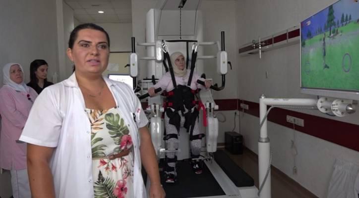Darıca Farabi Eğitim ve Araştırma Hastanesine Robotik Yürüme Cihazı