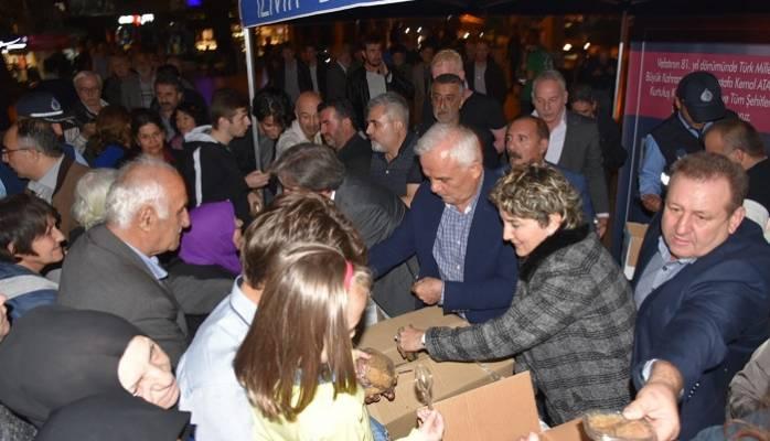 İzmit Belediyesi Gazi Mustafa Kemal Atatürk İçin Mevlit Okuttu