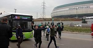 Kocaeli Stadyumuna Aktarmasız Ulaşım