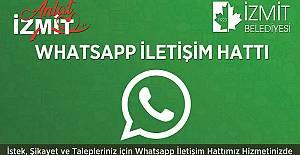 İzmit Belediyesi Whatsapp Destek Hattı