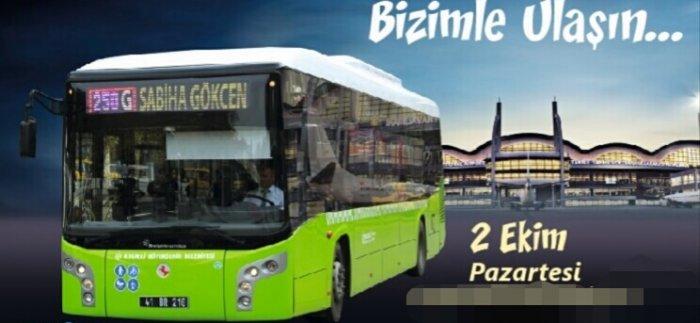 Hat 250G Gebze - Sabiha Gökçen Otobüs Saatleri