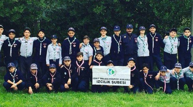 İZCİLER SARUSU'DA KAMP YAPTI