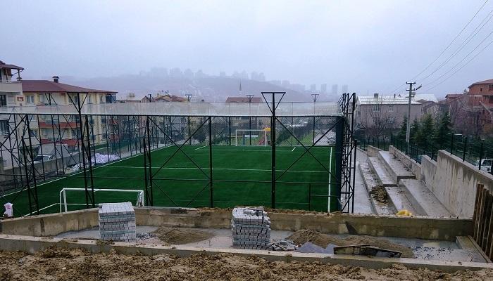 Yeşilova'ya Spor Tesisi