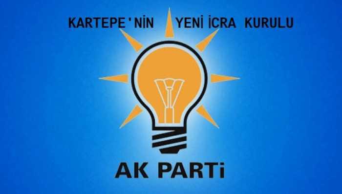 AK Parti Kartepe'nin Yeni Yönetim ve İcra Kurulu Listesi