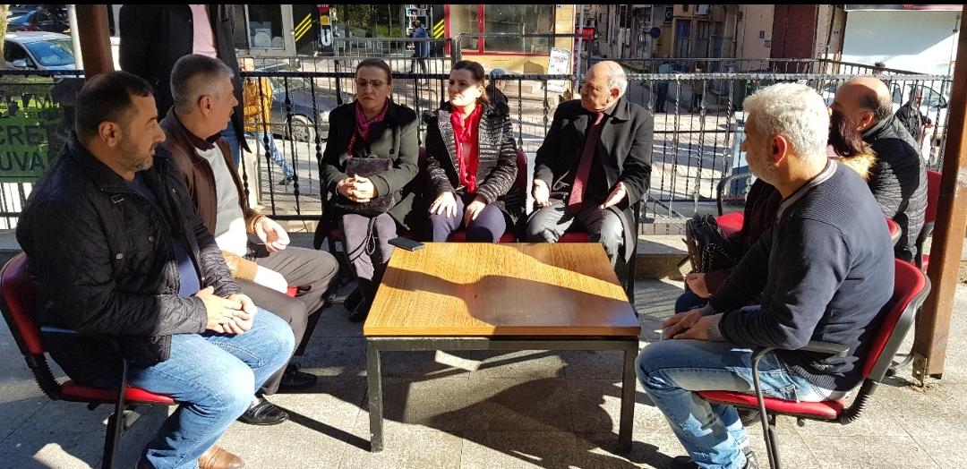 Hürriyet Taksi Duraklarını Ziyaret Etti