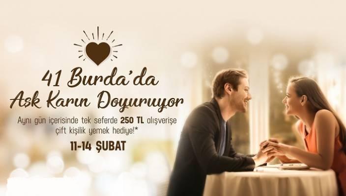 41 Burda'da Aşk Karın Doyuruyor