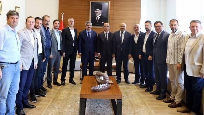 MHP İl Başkanı Aydın Ünlü'den KOTO'ya ziyaret