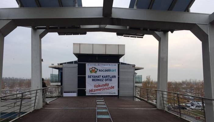 İzmit Seyahat Kartları Ofisi Yeni Yerine Taşınıyor