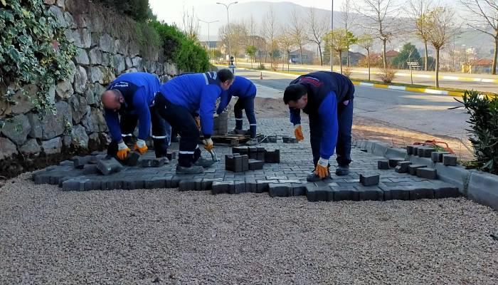 Başiskele'de Hummalı Çalışmalar Sürüyor