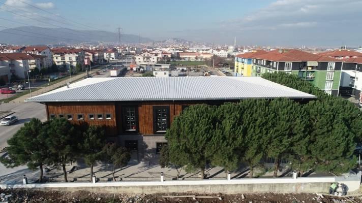 Yazlık Kültür Merkezi Tamamlanıyor