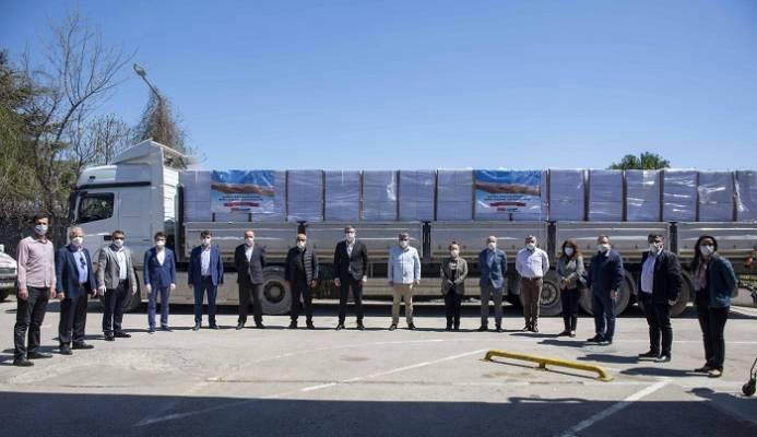 CHP'den ihtiyaç Sahibi 5000 Kişiye Erzak Yardımı