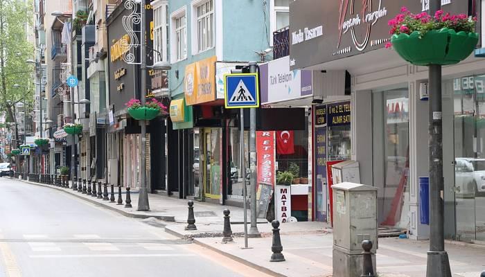 İzmit İnönü Caddesi sardunyalarla renklendi