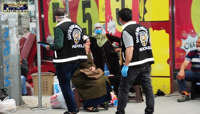 Kocaeli'de yasak öncesi 'Güven Huzur Uygulaması' yapıldı!
