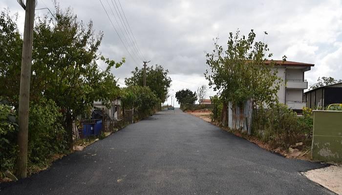 Tekkeköy yeni asfalt yola kavuştu
