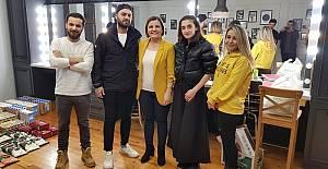 Başkan Hürriyet'ten Yardımsever Gençlere Destek